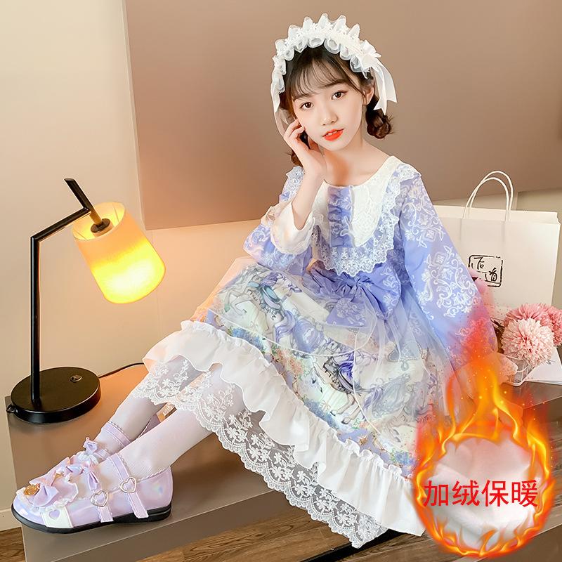 2020 childrens Lolita Princess Dress