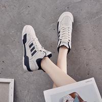 高帮2021春款2020新款板小白鞋女鞋