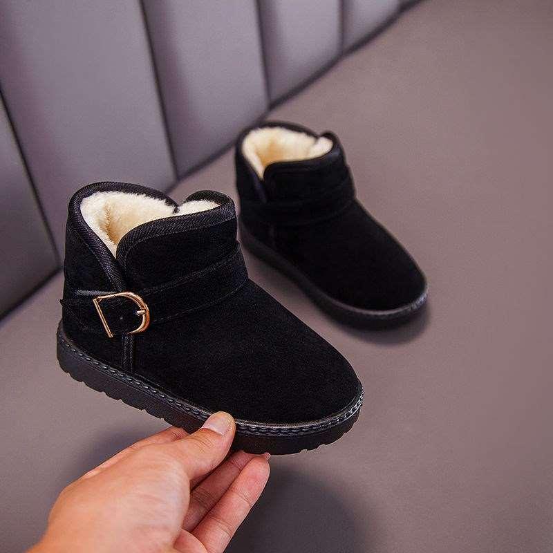 中國代購|中國批發-ibuy99|靴子男|儿童雪地靴季新款加绒加厚女童短靴男童大棉鞋防滑小宝宝棉靴子
