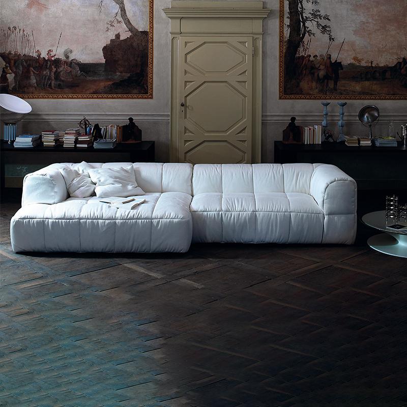 民宿设计师北欧创意立体大小户型客厅自由组合科技布乳胶轻奢沙发