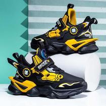 年新款春秋款中大童防水童鞋儿童篮球鞋运动鞋子男孩潮2020男童鞋