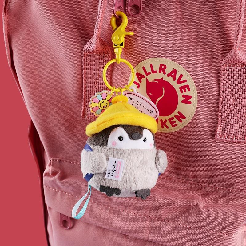 背包挎包挂件玩偶男个性毛绒丑萌可爱帆布包挂件玩偶公仔