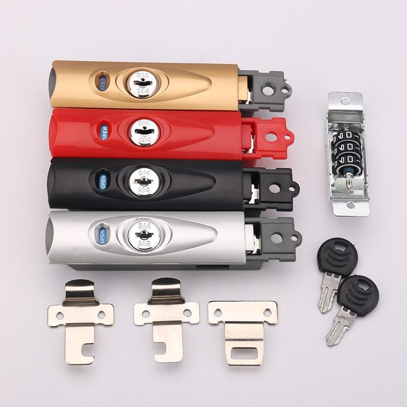 Buckle lock accessories 28 inch suitcase travel trolley box lock press portable lock head travel case pull case trunk