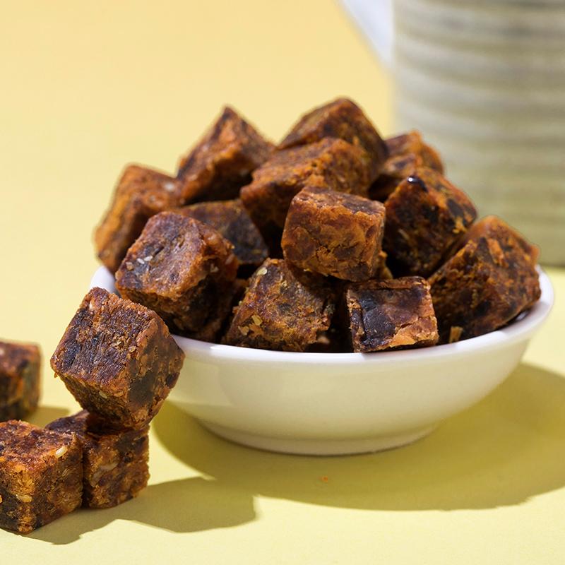 冠雄牛肉粒糖果装香辣味牛肉干办公室零食小吃网红休闲食品36g