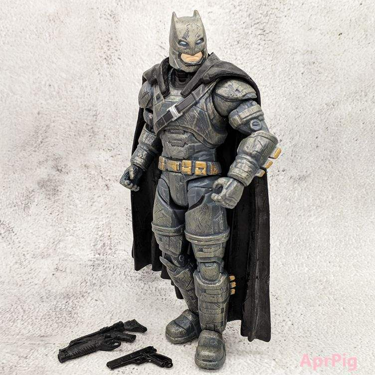 Heavy armour Batman battle Superman justice alliance movie version movable doll handmade doll model//