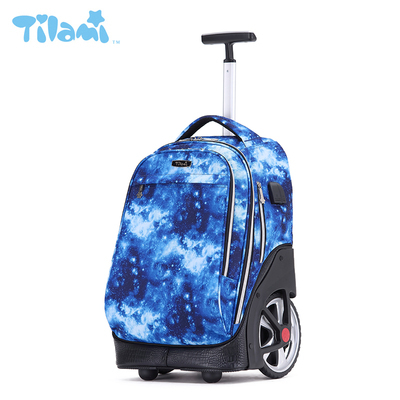 2021 hand C carrying high school students with wheels, childrens pull rod schoolbag, high-capacity boys, junior middle school students, suitcase type middle school