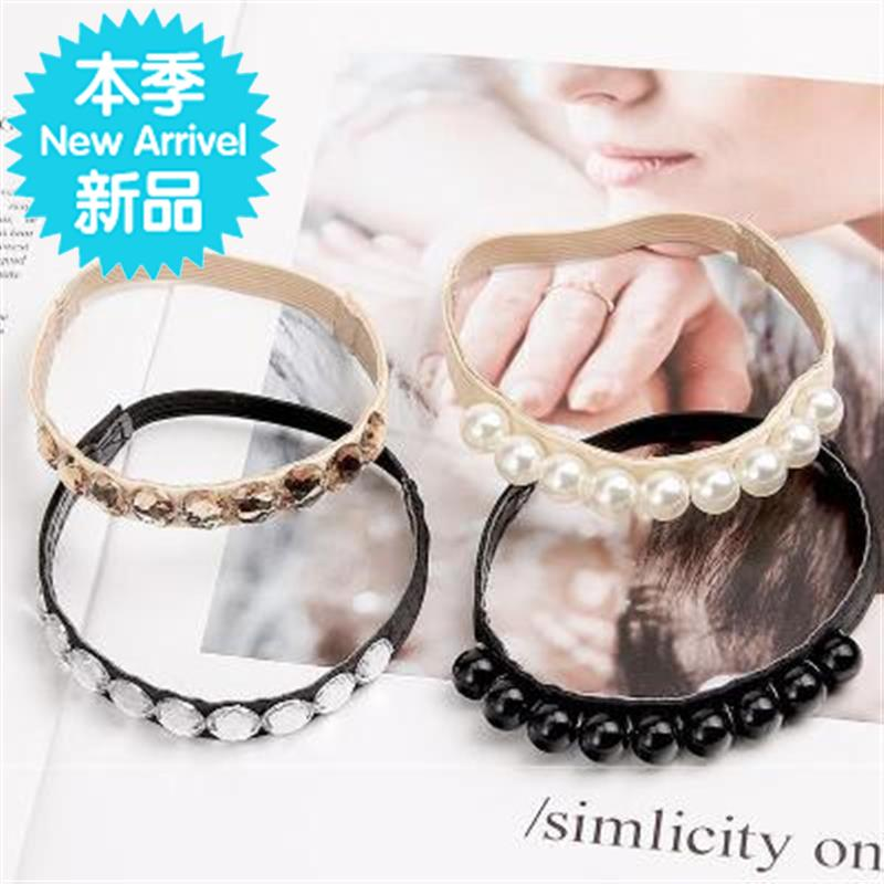 Shoelace punching STRAP HIGH HEEL ANKLE STRAP decoration traceless shoelace lacing board 5 shoelace buckle flat strap