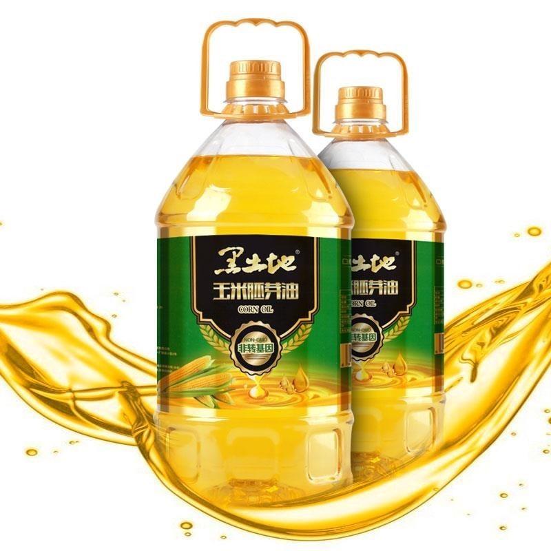 Pure corn germ oil 5L non transgenic black land corn germ oil