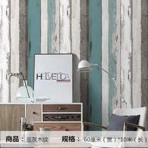自贴木纹防水防潮壁纸卧室出租房间男生宿舍贴纸PVC墙纸自粘寝室