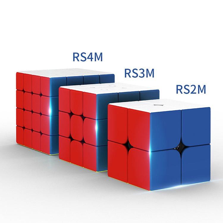 【派魔方】魔域魔方教室RS3M2020磁力版三阶RS2M二阶比赛RS4M四阶