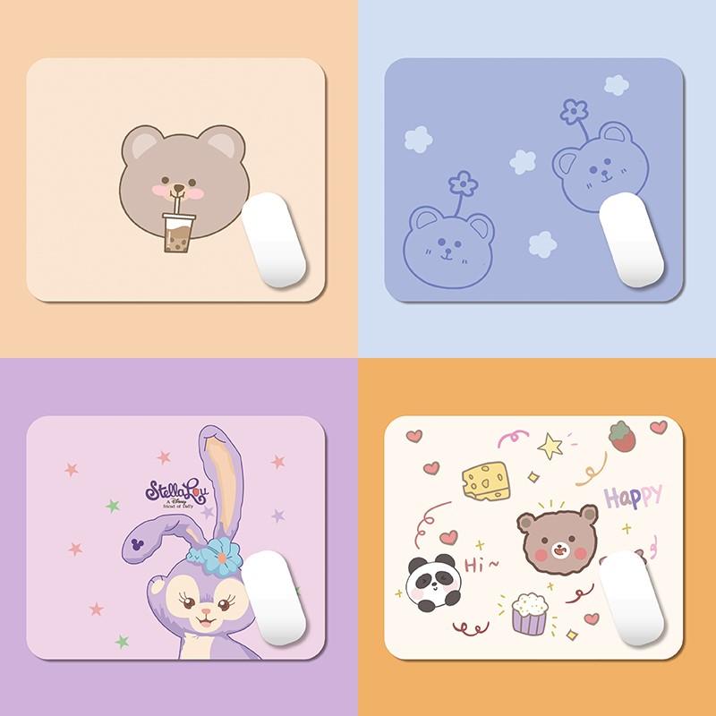 中國代購|中國批發-ibuy99|鼠标|鼠标垫软萌系可爱创意萌物小号迷你桌垫粉色卡通女生ins风