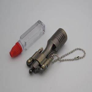 海豚小酒瓶便携打火机个性老式砂轮煤油打火机怀旧复古男士
