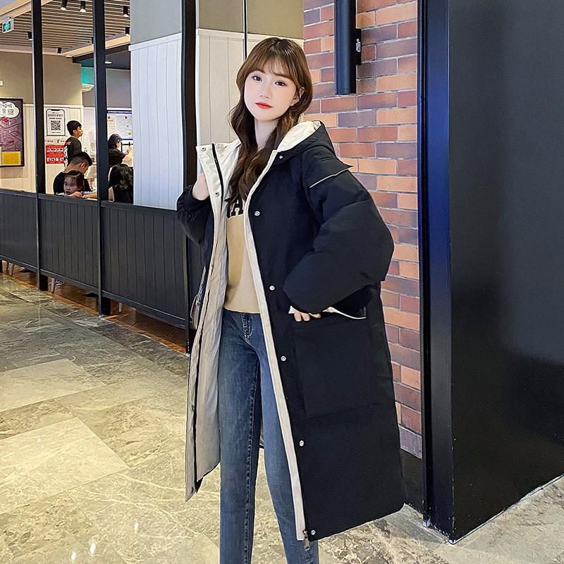 孕妇棉服冬孕后期韩版宽松羽绒服