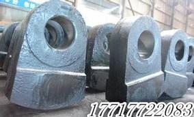 铸件破碎机方活动锤头高头耐磨头