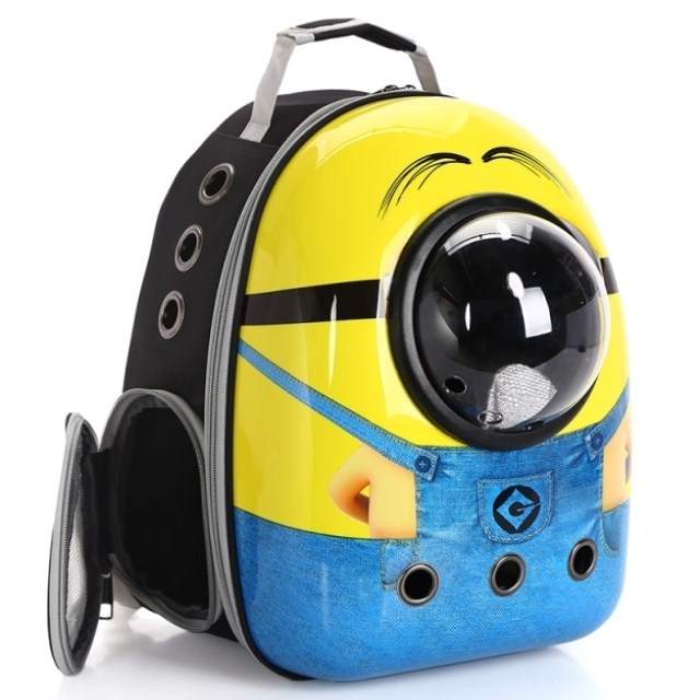 . Multi purpose carry shopping dog supplies pet backpack go out backpack small rabbit walk Park medium dog