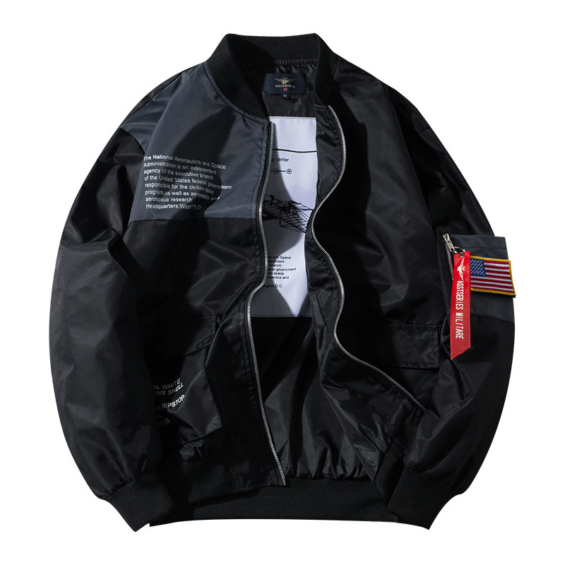 Autumn and winter 2020 new mens work jacket for young couple big size loose hip hop sportswear for men and women