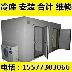 爆款冷库全套设备保鲜库冷冻库安装雪库冻库急冻小型冰库移动风冷
