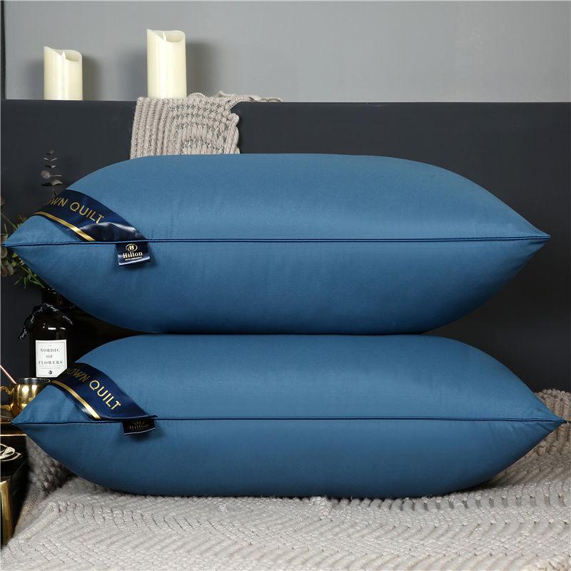 【清仓】希尔顿五星级酒店枕头单只一对装真空枕头可水洗枕芯