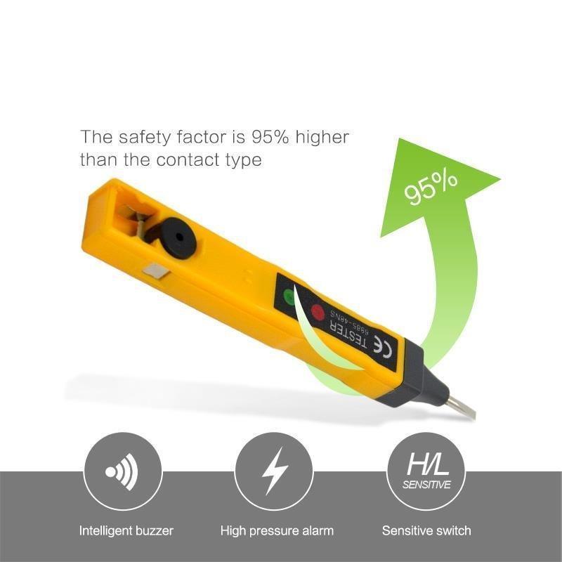 线路检测电缆线断路检测器断电测试笔高精度感应电笔声光电路家用
