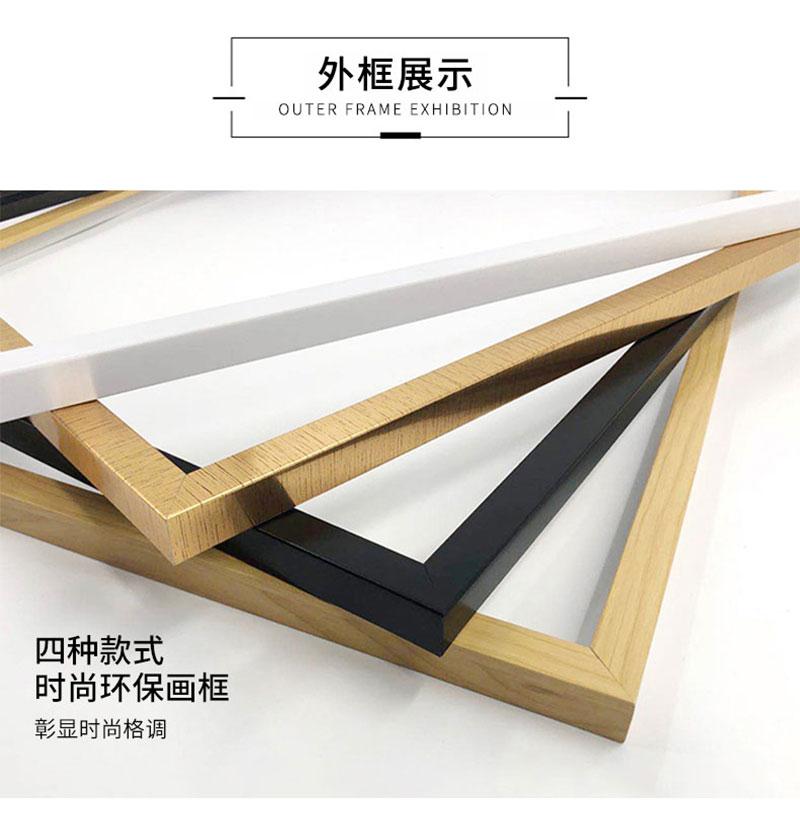Xia Mu You Ren Zhang Gui Zhi DIY digital oil painting cartoon animation hand painted decorative oil painting new products