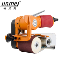 Merlot Pneumatic wire drawing machine Belt machine belt grinding metal stainless steel grinder sandpaper machine polishing machine