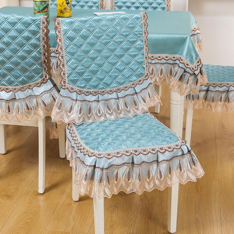 椅子垫餐桌椅垫椅套座坐垫四季通用防滑加厚家用欧式餐椅垫套装