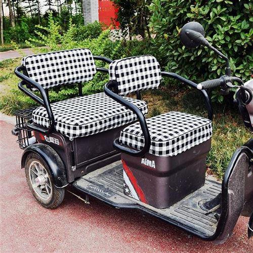 志动三轮b车座套皮面。四季休闲坐垫电车配件大全通用坐套订做封