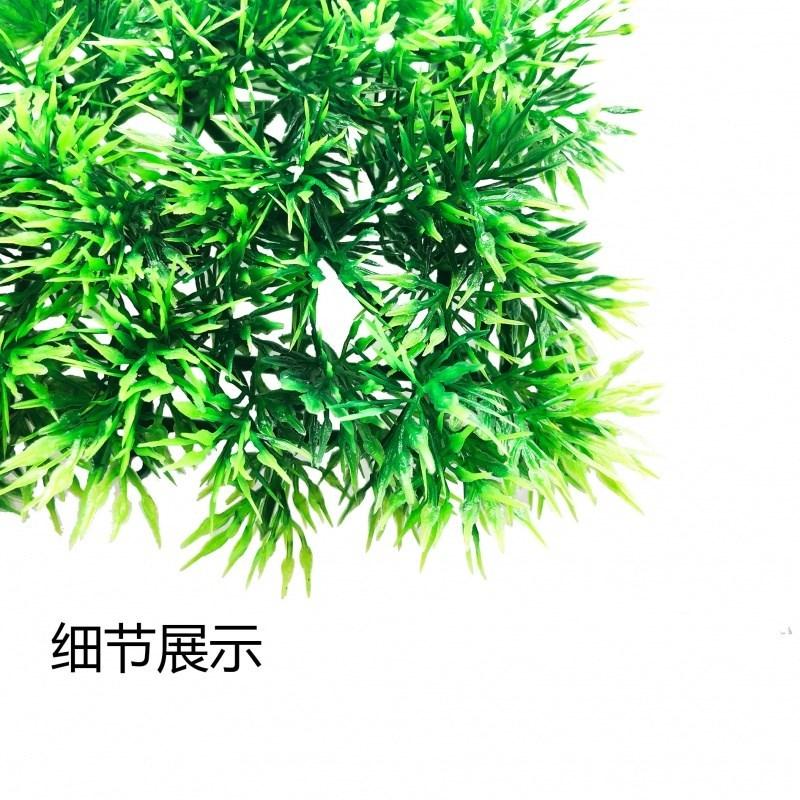 鱼缸仿真水草底部草皮可裁剪植物造景装饰假水草人工草坪25*25cm