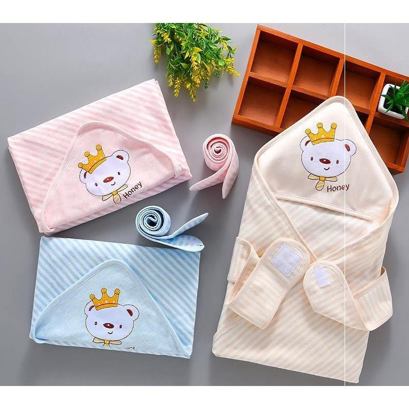 Blanket pure holding cotton cloth by birth baby soft little summer breathable four seasons cover newborn high density by thin baby Entertainment