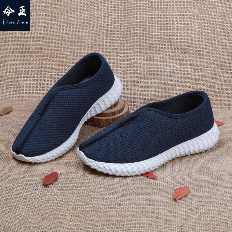 Light soled monk shoes Zen repair shoes casual shoes mens shoes Chinese style monk monk shoes monk