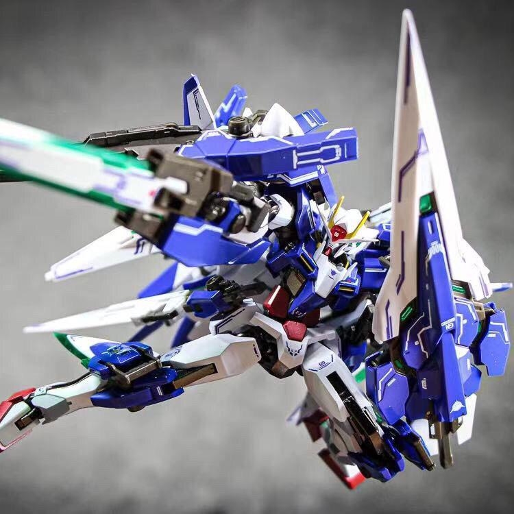 GAODA model Hg raids free Unicorn destiny seven swords 00r Angel assembly mecha deformation hand toy