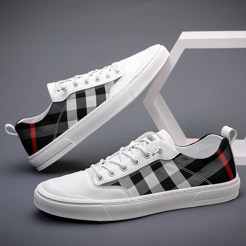 Canvas shoes mens autumn mens shoes new mens casual shoes breathable ice cloth shoes sports shoes Korean trendy mens board shoes
