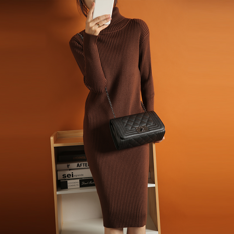 New Korean lazy dress in autumn and winter 2020