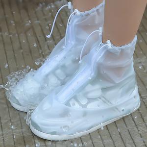 水成人套儿童防水防滑鞋女鞋子透明雨靴雨鞋套套下雨套鞋耐磨加厚
