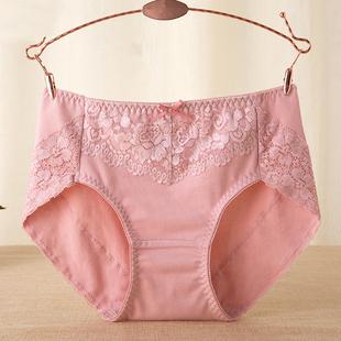 3条盒装 中腰纯棉女士内裤 日系全棉裆底包臀舒适透气无痕三角裤