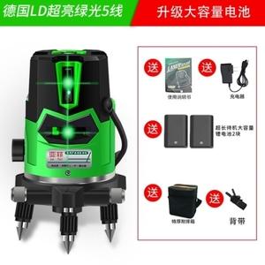 工具多功能红外线水平仪我要买立杆锂电池打斜线测量三脚架红线