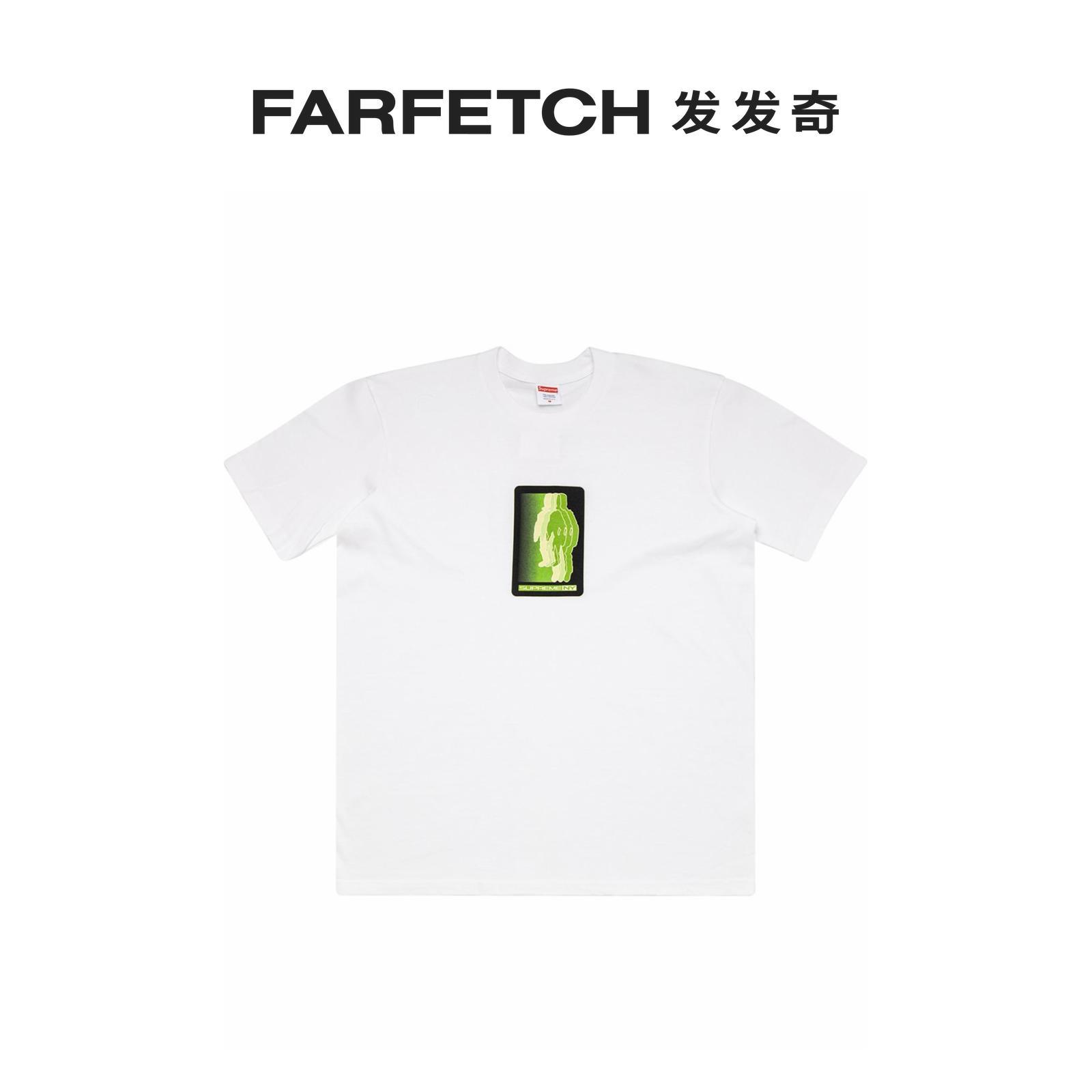 七夕礼物Supreme男士Blur T恤FARFETCH发发奇