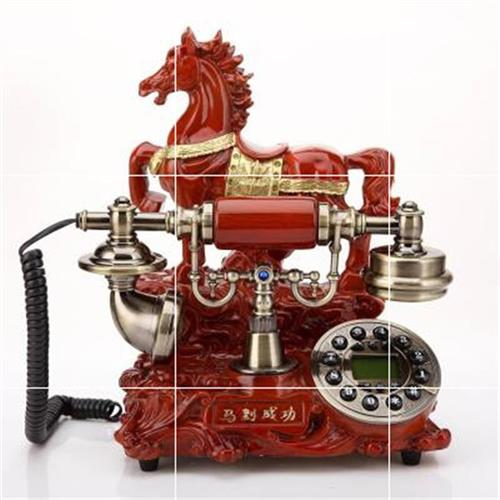 The fashion of archaize telephone is successful, the European style telephone stand home is old, the mobile card is fixed, the V fixed machine villa is old