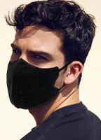 3d黑色进口亲肤面料舒适透气口罩