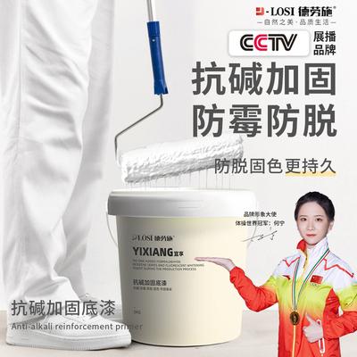 Alkali-resistant primer for indoor and outdoor walls