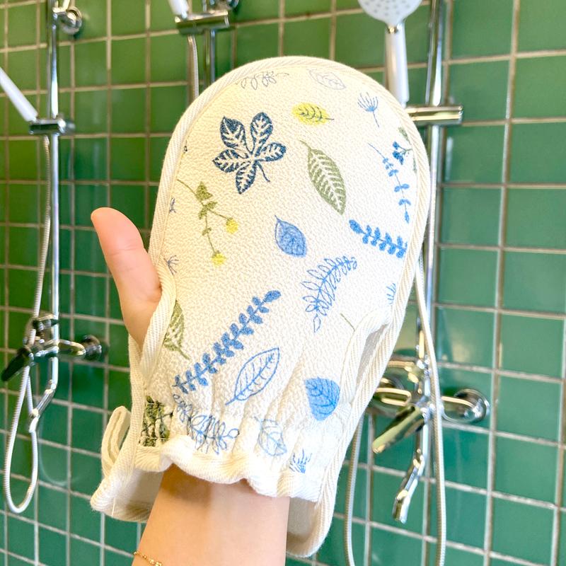 搓澡巾洗澡神器包邮强力搓泥搓澡手套可爱家用女士不疼搓背澡巾