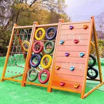 Small gym, indoor recreation facilities, climbing rack, childrens scenic area fence net combined game house