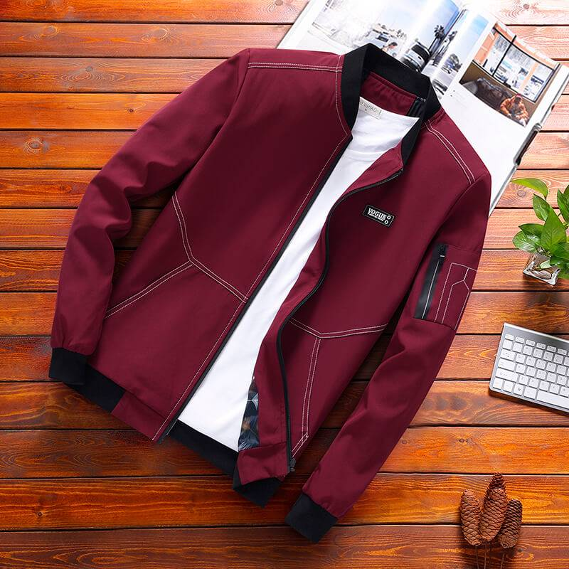 Fat extra large mens jacket spring and autumn extra large casual coat fat man extra large collar coat