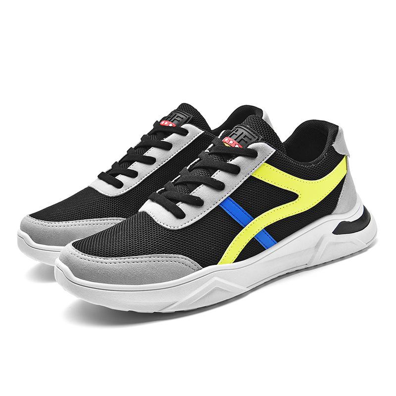男鞋春夏季2021新款飞织鞋子休闲运动鞋男旅游跑步潮鞋透气男鞋子