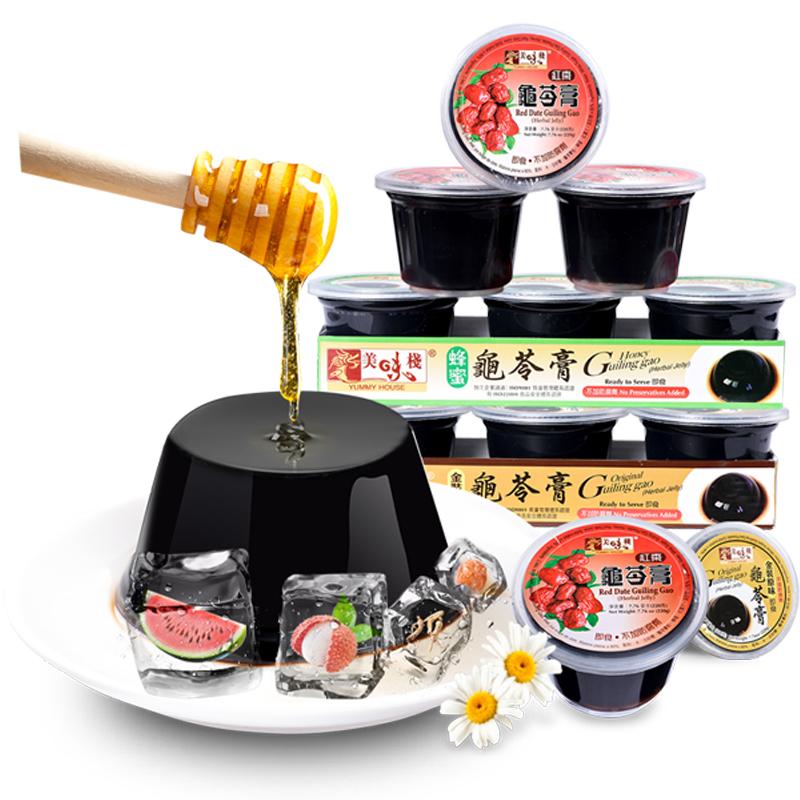 美味栈中国香港正宗原味220g龟苓膏