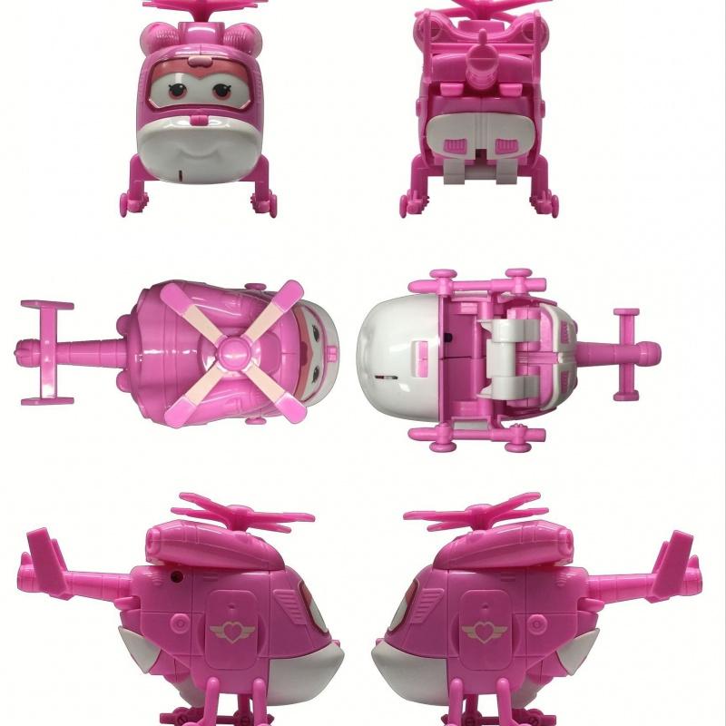 小さいセットエジソンの贈り物ロボットの変形児童侠客のおもちゃ