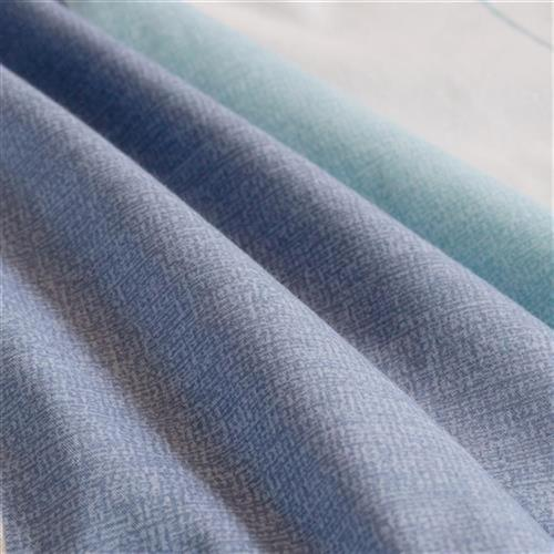 Chengming mercury home D spinning cotton four piece blue quilt cover 2d.0m bed sheet 4 pieces for double 1.8m bed