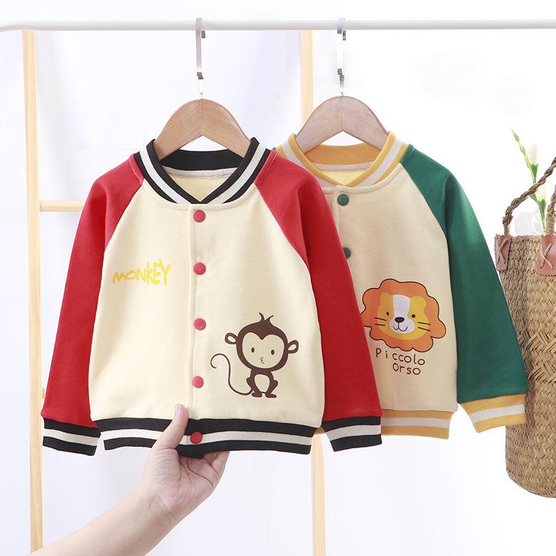 中國代購 中國批發-ibuy99 棒球 新生宝宝外套春秋儿童棒球服纯棉洋气男童童装女童上衣婴儿衣服