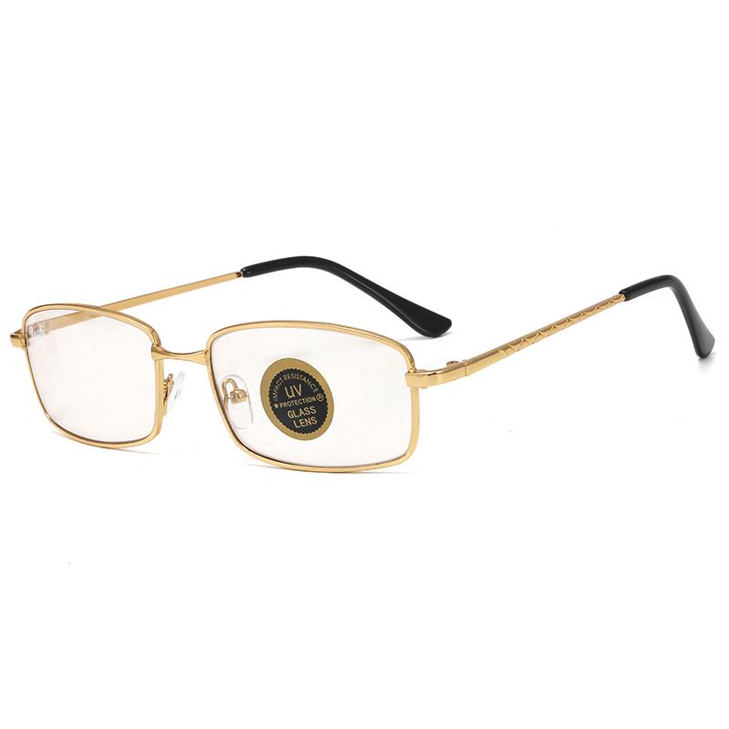 钢化玻璃钓鱼开车眼镜男女长方形小脸变色高清框小号墨镜小太阳镜