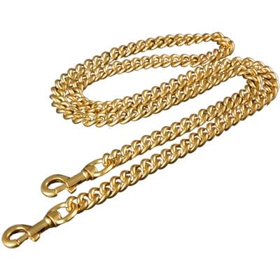 包包链条配件单买斜跨替换肩带女高档挎背包带子皮包金属链改造粗